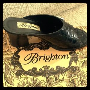Brighton gator print shoes